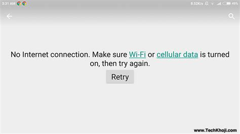 Google Play Store  No Internet Connection, Retry  Fix ...