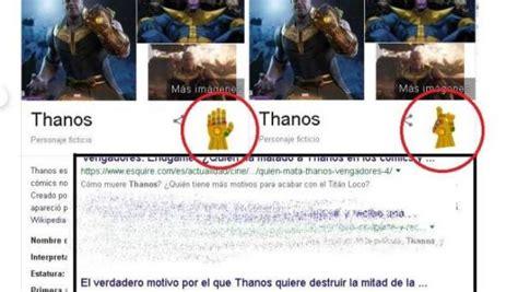Google te permite ejecutar el chasquido de Thanos... y ...