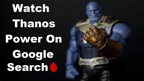 Google Thanos   Thanos snap Google   Thanos snap Google ...