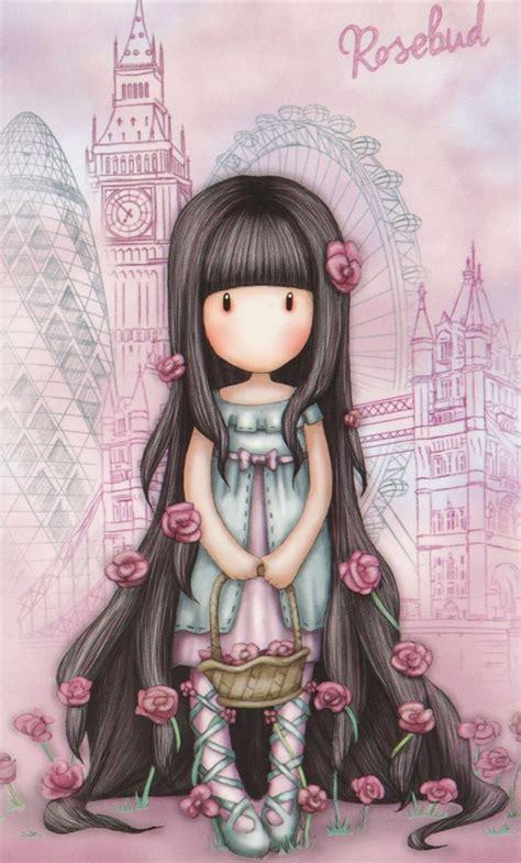GORJUSS.. ‿ | Dibujos bonitos, Muñecas bonitas, Ilustraciones