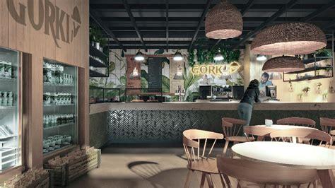 Gorki, Restaurante, Aeropuerto de Málaga. Estudio ...