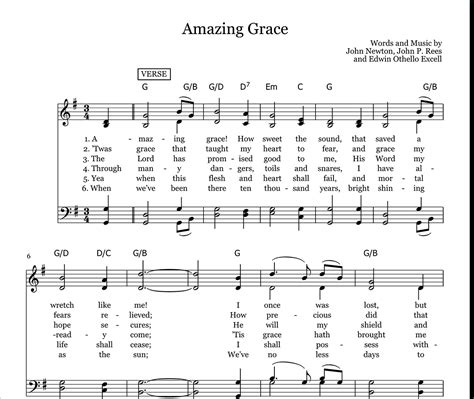 Gospel Song Lyrics Free Printable | Free Printable