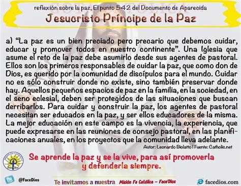 GOTA Católica Gotas de Dios: Reflexión sobre la paz, El ...