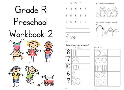 Gr R Preschool Workbook 2 PDF ENG   Teacha!