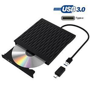 Grabadora DVD, Lector CD/DVD Usb 3.0 y Type C, Ultra Slim ...
