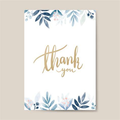 Gracias vector de diseño de tarjeta acuarela | Descargar ...