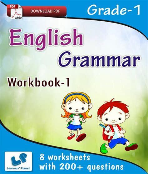 Grade 1 English Grammar Workbook 1  E Books, Downloadable ...