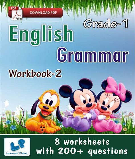 Grade 1 English Grammar Workbook 2  E Books, Downloadable ...