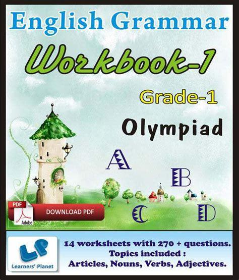 Grade 1 Olympiad English Grammar Workbook 1  E Books ...