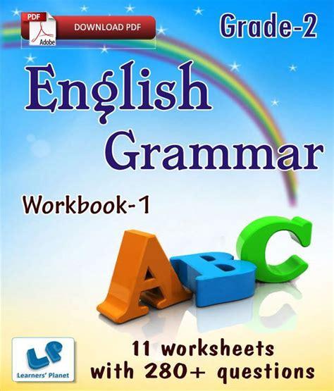 Grade 2 English Grammar Workbook 1  E Books, Downloadable ...