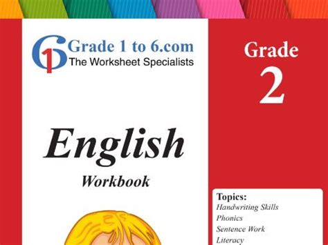 Grade 2 English Workbook/ Worksheets bundle from www ...