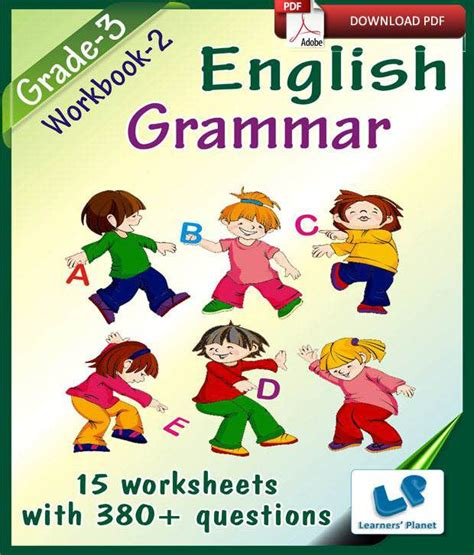 Grade 3 English Grammar Workbook 2  E Books, Downloadable ...