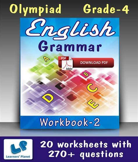 Grade 4 Olympiad English Grammar Workbook 2  E Books ...