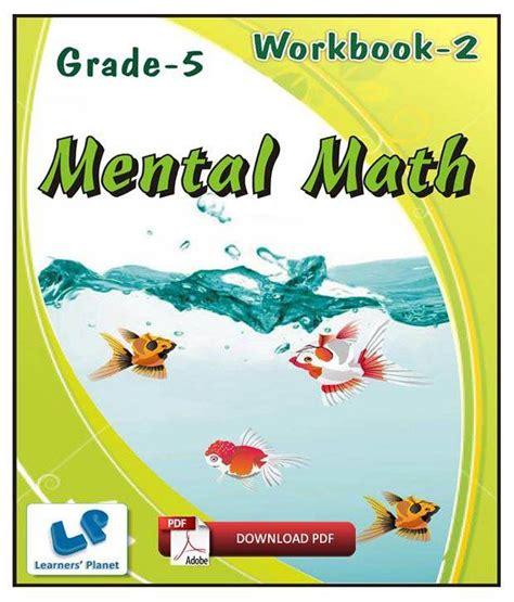 Grade 5 Mental Math Workbook 2  E Books, Downloadable PDF ...