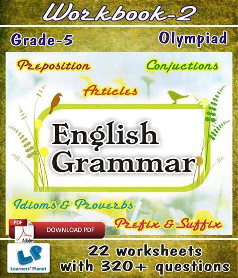 Grade 5 Olympiad English Grammar Workbook 2  E Books ...