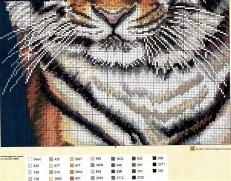 GRAFICOS PUNTO DE CRUZ GRATIS : TIGRES 31    Африка ...
