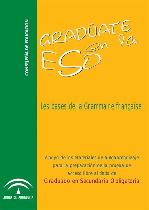 Grammaire francaise junta_andalucía