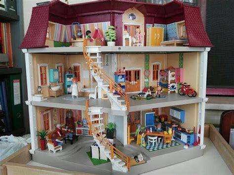 Gran casa de muñecas de Playmobil de segunda mano por 220 ...