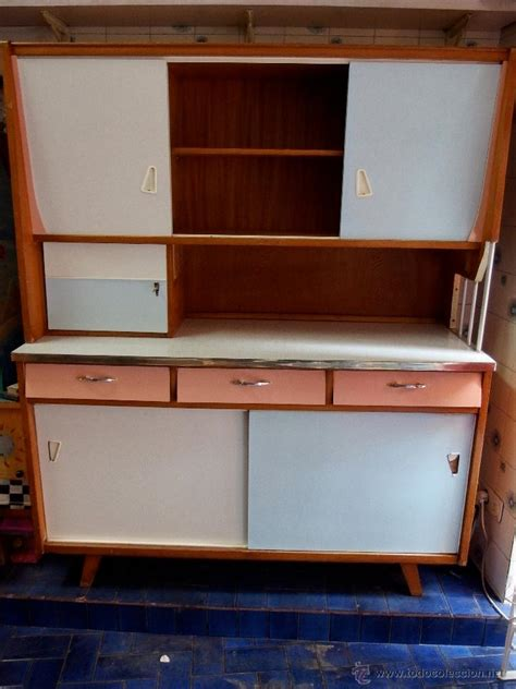 gran mueble de cocina años 60 superpop madera y   Comprar ...