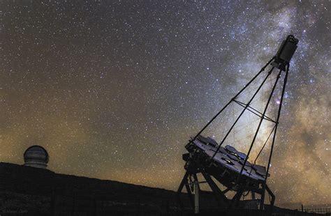 Gran Telescopio Canarias and FACT Telescope against Milky ...