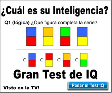 Gran test de inteligencia | Test de Inteligencia ...