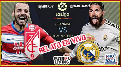 Granada vs Real madrid   EN VIVO   #3   Radio con imagen ...