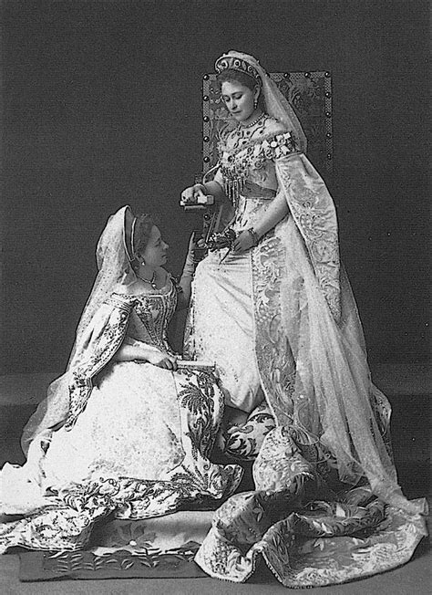 Grand Duchess  Ella  poses with a Lady in Waiting, Kitty ...