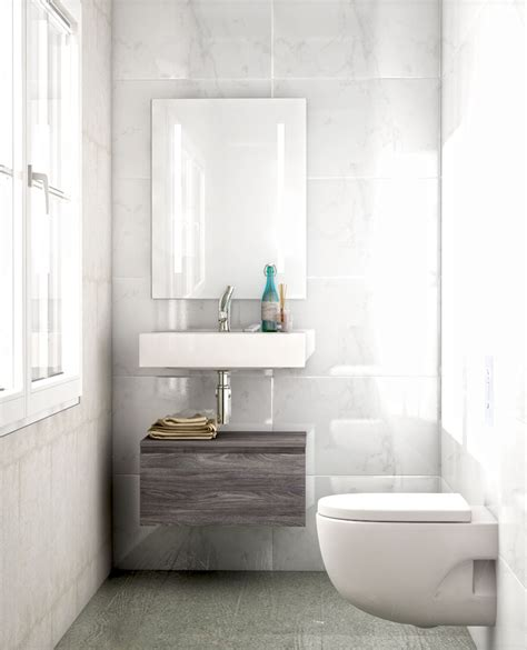 Grandes espejos para baños pequeños   UNIBAÑO
