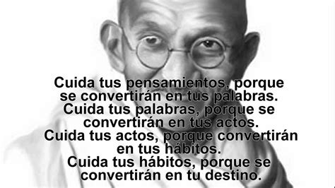 Grandes frases de Mahatma Gandhi   YouTube