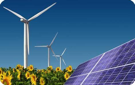 Grandes fuentes de energías renovables