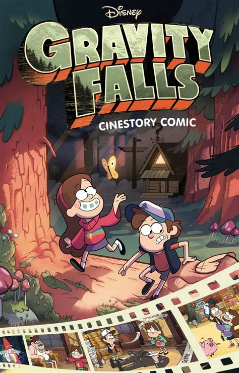 Gravity Falls Cinestory Comic   Gravity Falls Wiki ...