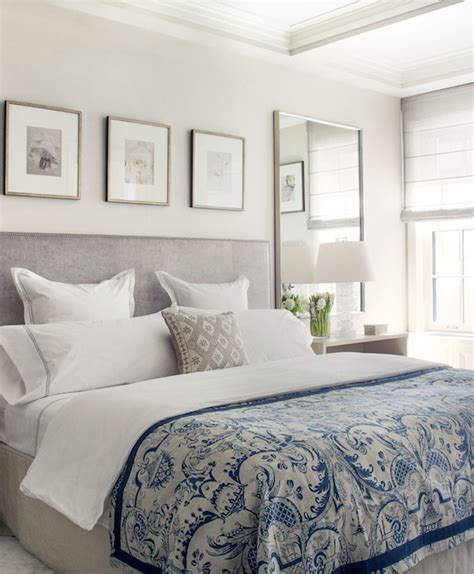 Gray and Blue Bedrooms   Transitional   bedroom   Victoria ...