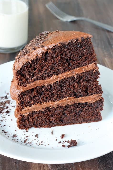 Greek Yogurt Chocolate Cake   Baker by Nature