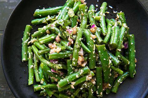 Green Bean Salad with Basil, Balsamic, and Parmesan Recipe ...