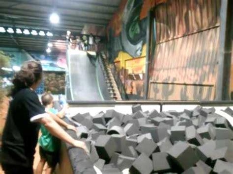 Green indoor park colchoneta   YouTube