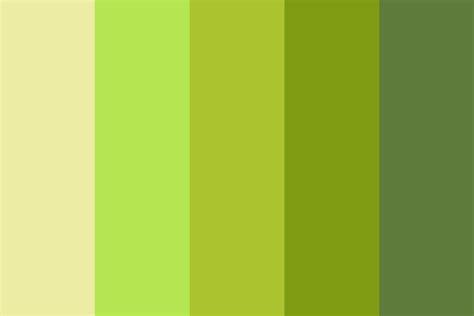 Green Palette Color Palette