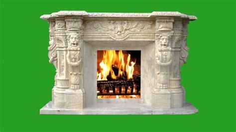 Green Screen Fireplace Chimenea 3º HD   YouTube
