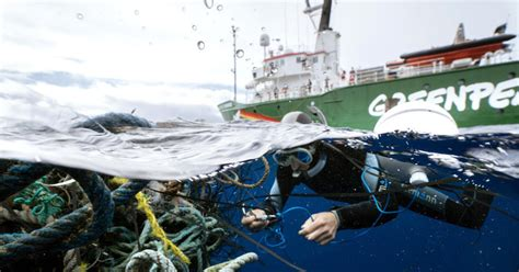 Greenpeace Ships Set Sail to Tackle the Global Plastic ...