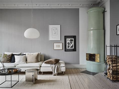 Grey home with a natural touch   COCO LAPINE DESIGNCOCO ...