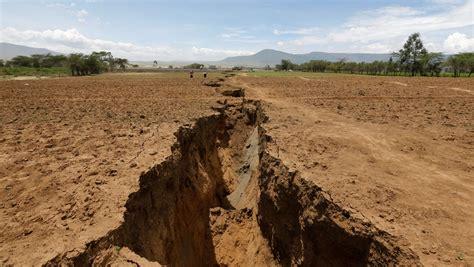 Grieta en Kenia: África se está dividiendo en dos   MAPA