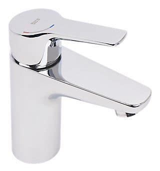 Grifo lavabo monomando cromado ROCA Pure · LEROY MERLIN
