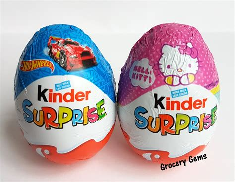 Grocery Gems: New Review: Hello Kitty Kinder Surprise Eggs