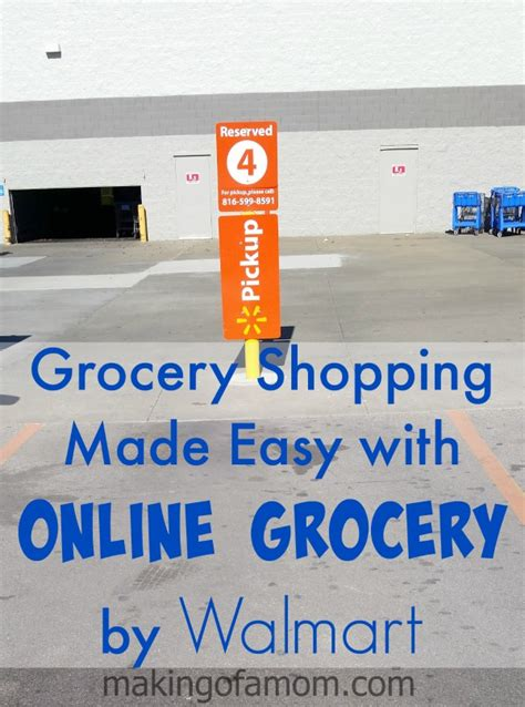 Grocery Shopping Made Easy with Online Grocery by Walmart ...