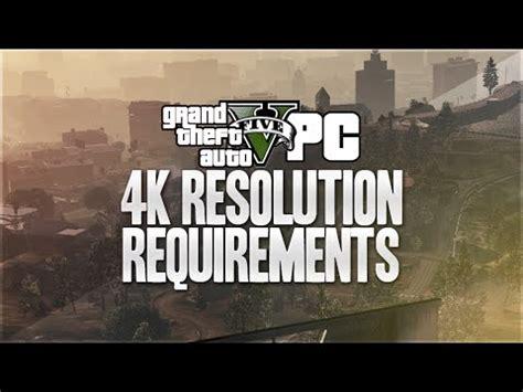 GTA 5 PC 4k Resolution 60 FPS   Can You Run It?  GTA 5 PC ...