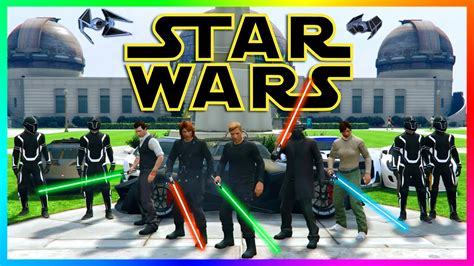 GTA ONLINE STAR WARS SPECIAL   THE LAST JEDI, LIGHTSABER ...