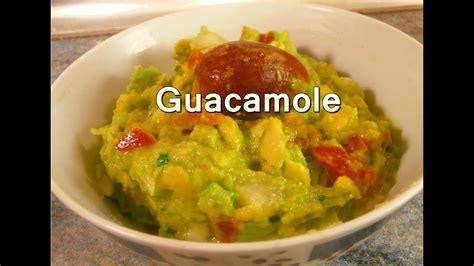 GUACAMOLE MEXICANO CASERO   Recetas de Cocina Faciles ...