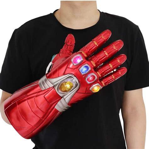 Guante de Iron Man con 6 Piedras Infinitas de Avengers ...