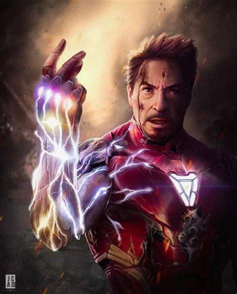 Guante Iron Man Endgame Tony Usa Las Gemas Para ...
