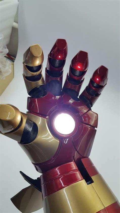 Guante Iron Man Mark 42 Ironman Brazo Funcional Avengers ...