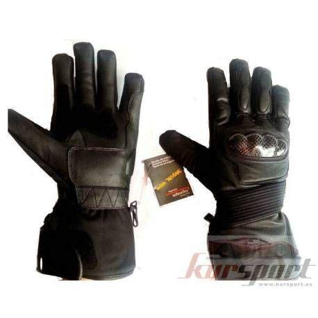 guantes para motorista piel y cordura | Guantes, Guantes ...